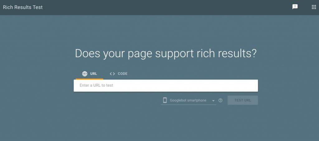 new google rich result snippet