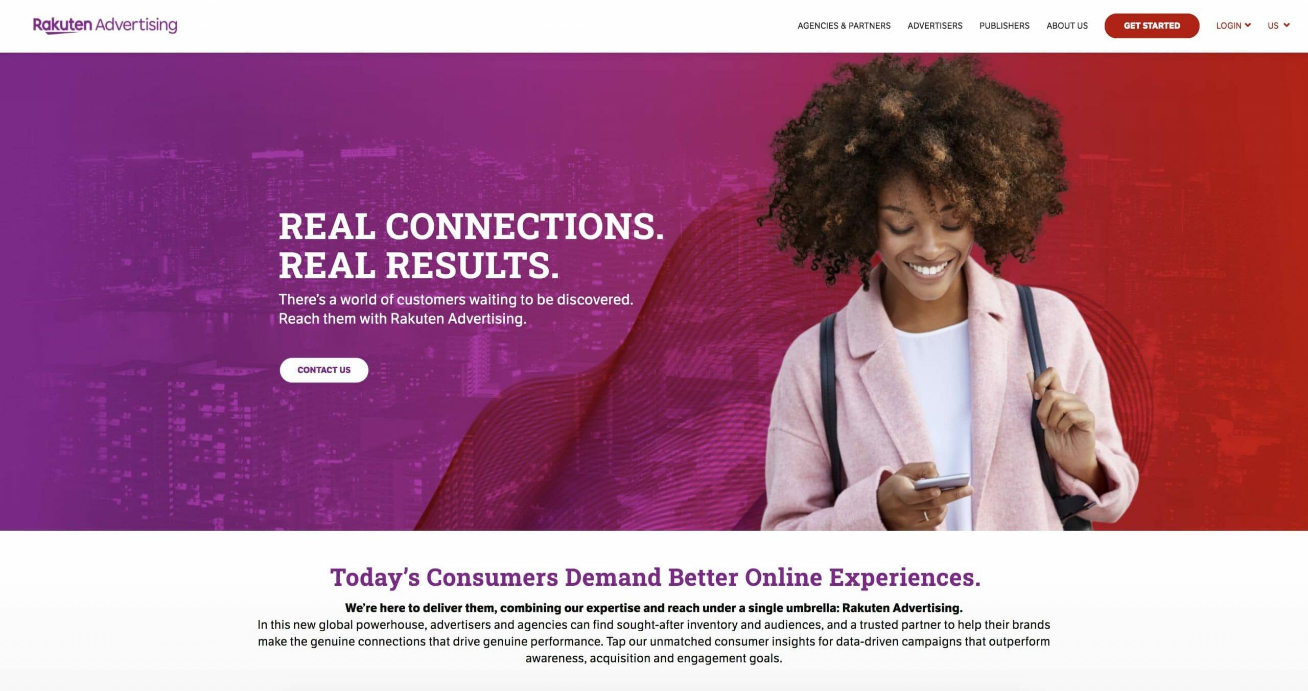 Rakuten Homepage Snapshot
