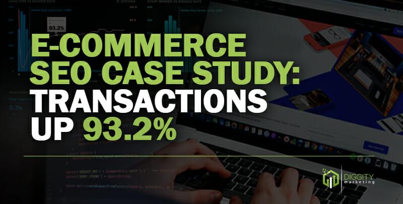 E-commerce Case Study Cover