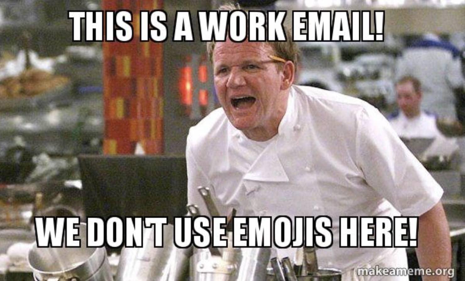gordon ramsey email emoji meme