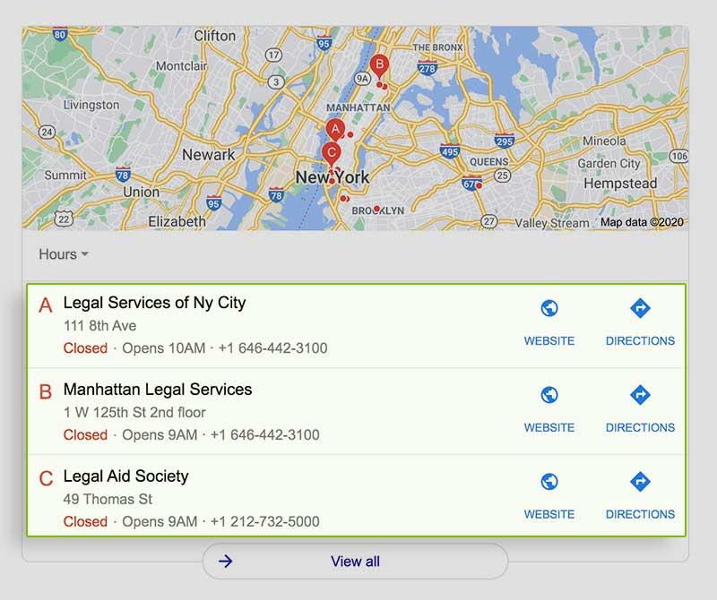 legal service new york gmb