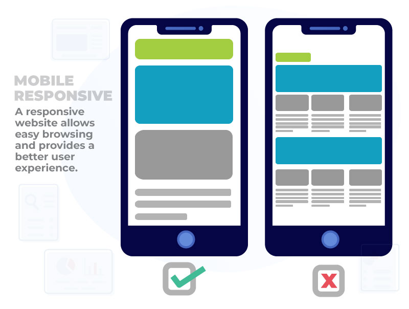 mobile responsiveness illustration