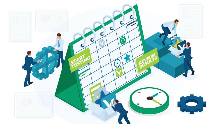 seo strategy schedule
