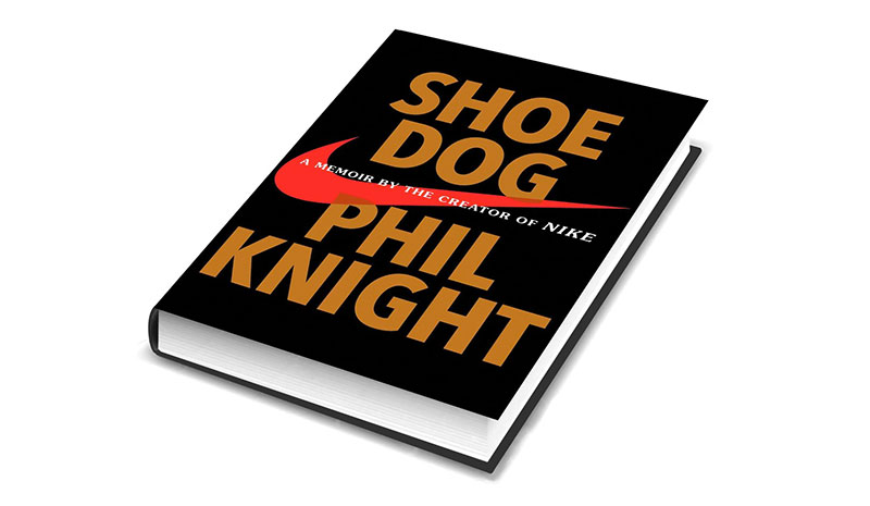 shoe dog just do it book