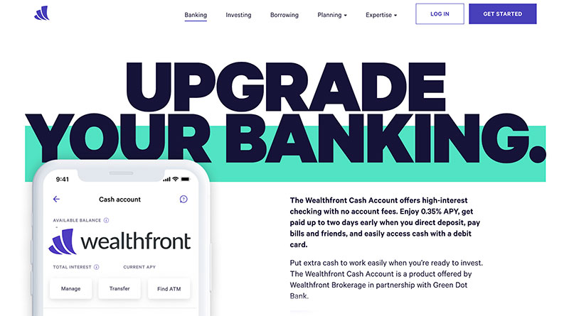 wealthfront banking