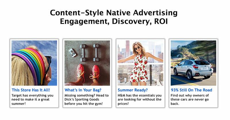 Adblade Content style ads