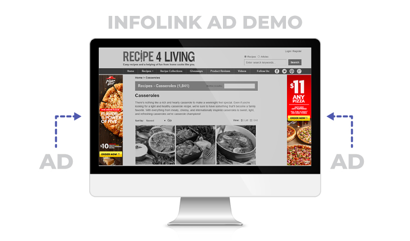 Infolink-website-ad-demo