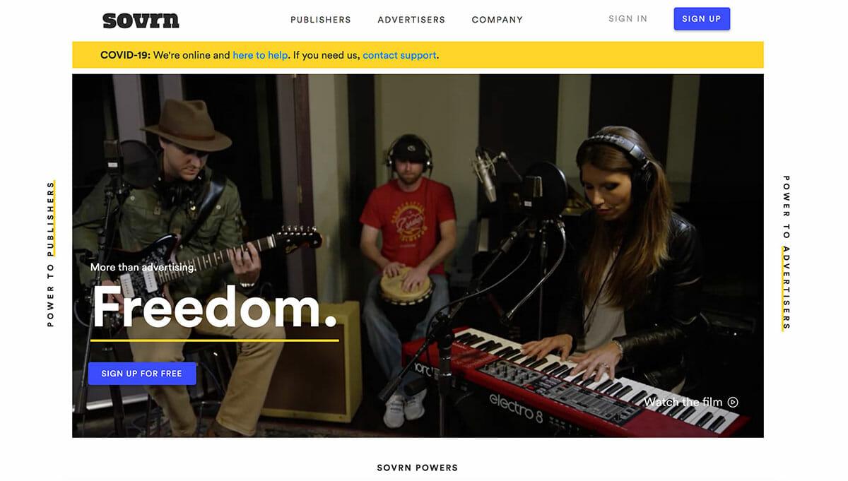 Svorn homepage