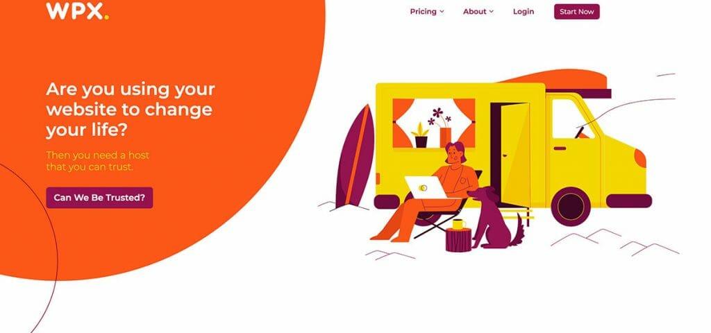 WPX-homepage-screenshot