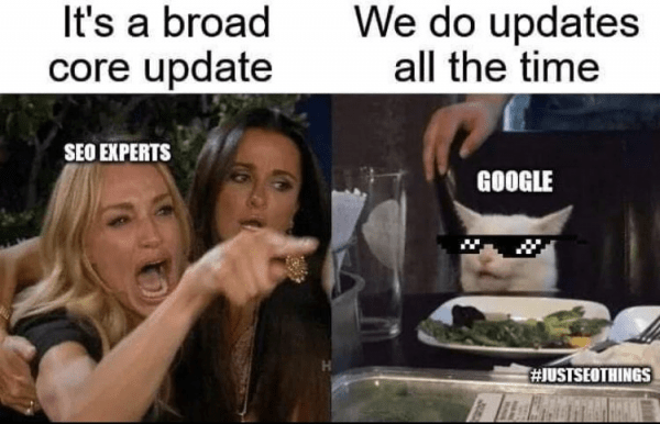 december google update meme