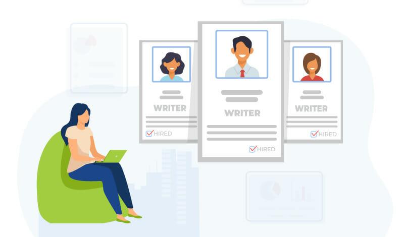 project cashflow hiring writers