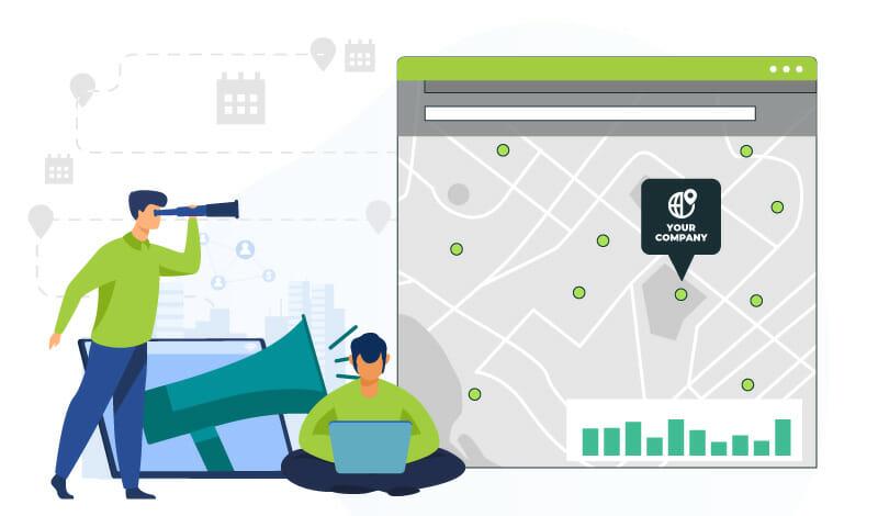 your company location