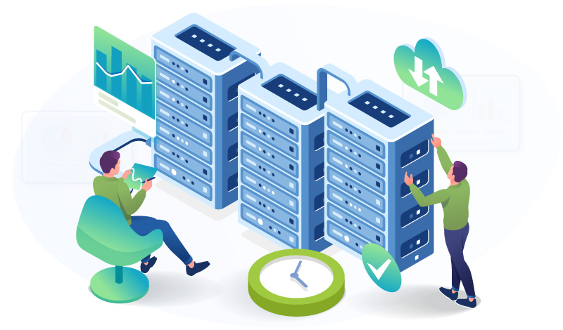 server response time data center