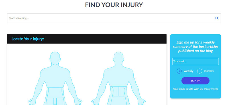 find-your-injury-tool