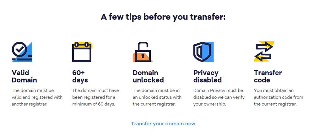 hostgator domain transfer