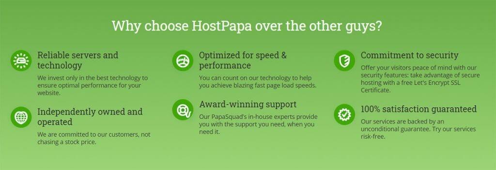 hostpapa go green