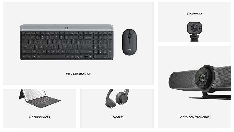 logitech products to promote