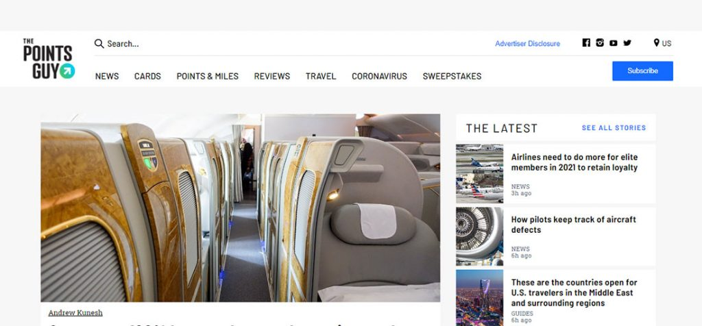 The site attracts 6 million travelers per month
