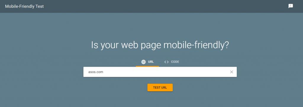 free mobile friendly test