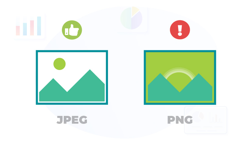 jpeg or png