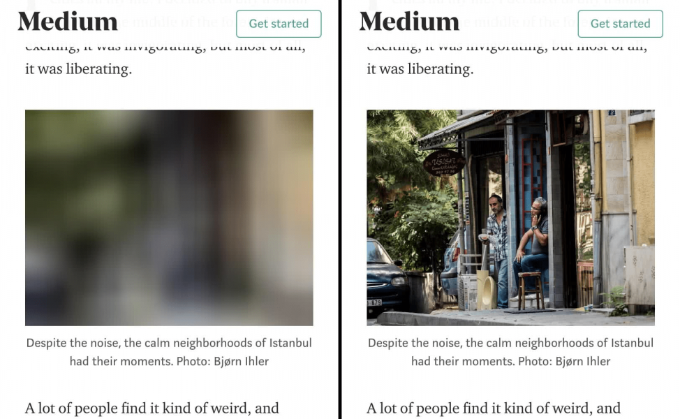 optimizing images better for site speed