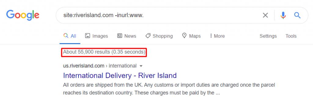 riverisland url page number