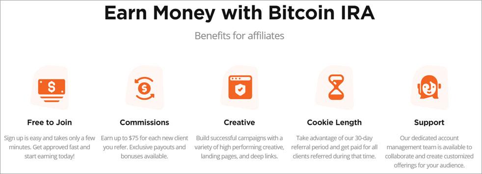 Bitcoin IRA benefits