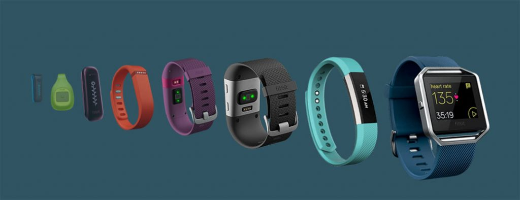 Fitbit wearable products