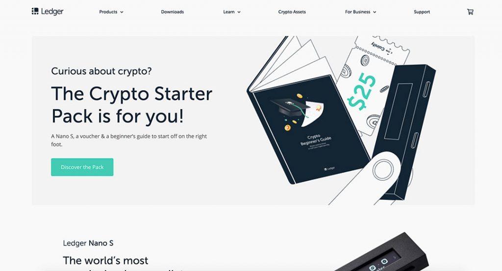Ledger Homepage