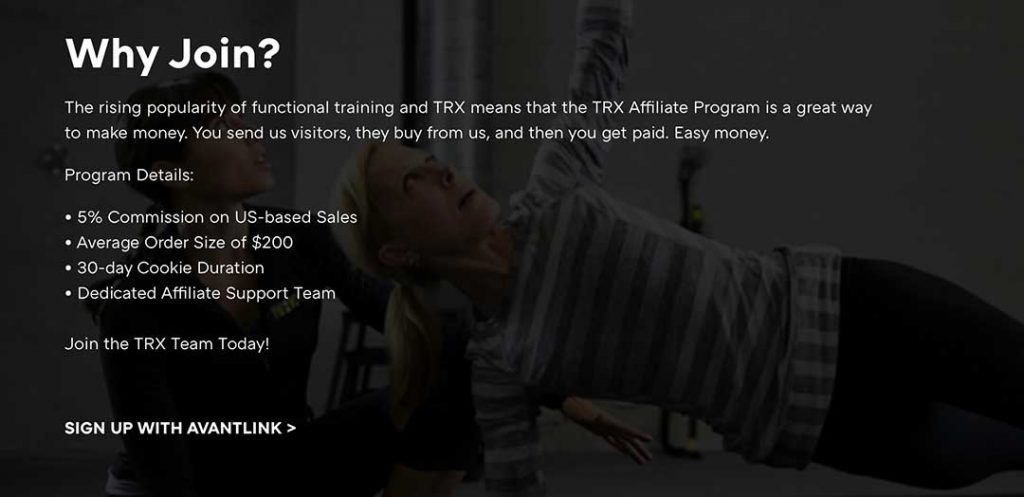Why join TRX