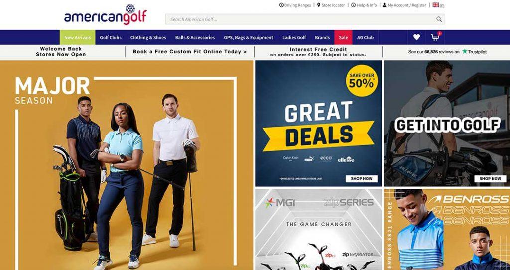american golf homepage