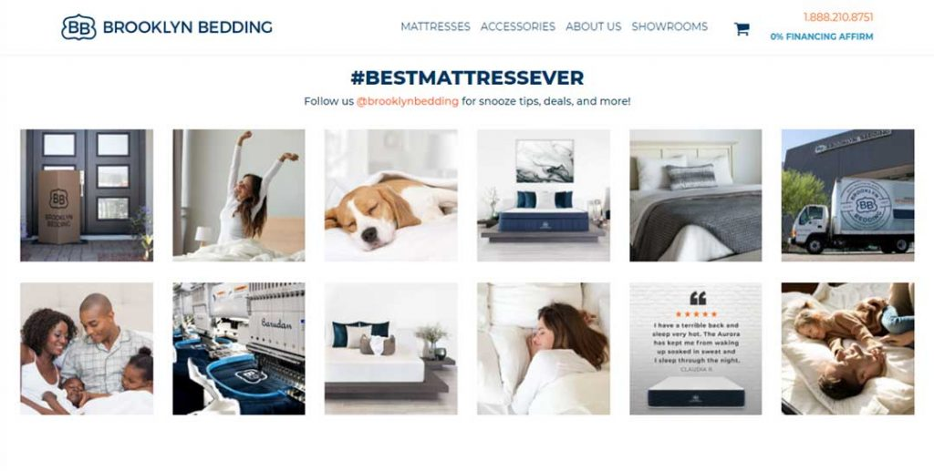 brooklyn bedding homepage