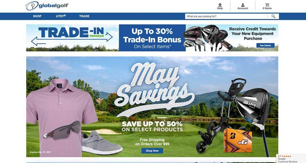 global golf homepage