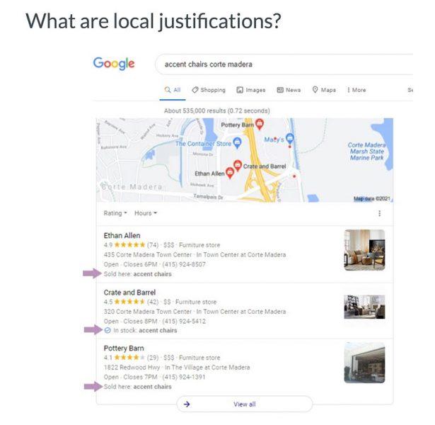local justification