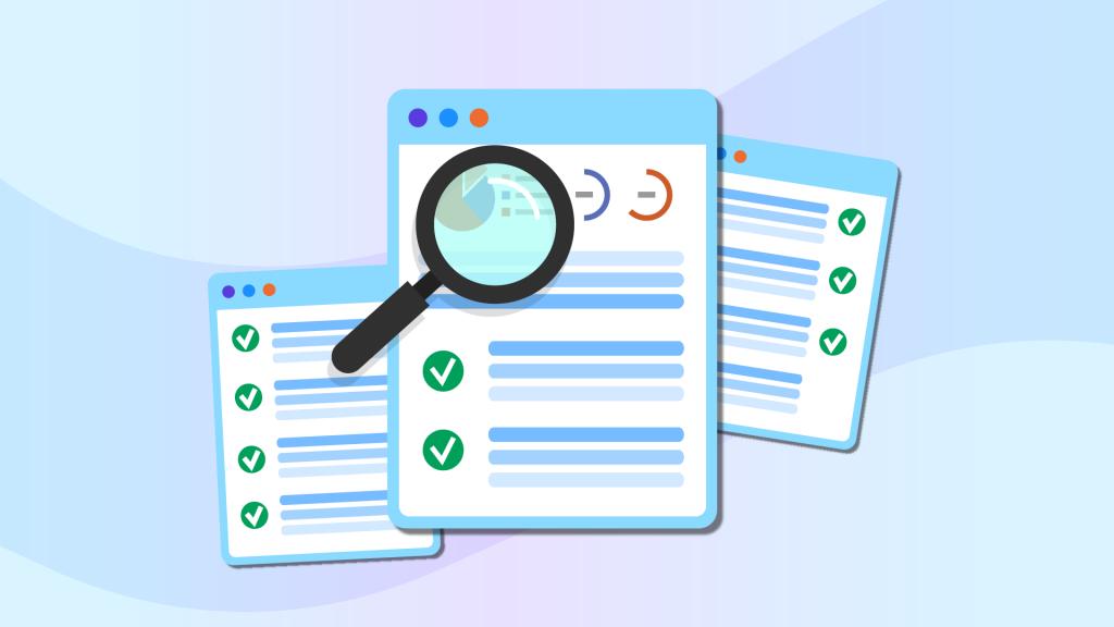 On Page SEO Checklist illustration TSI