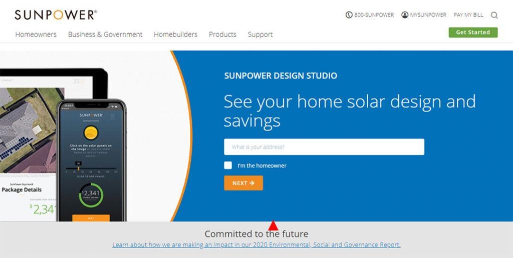 sunpower homepage