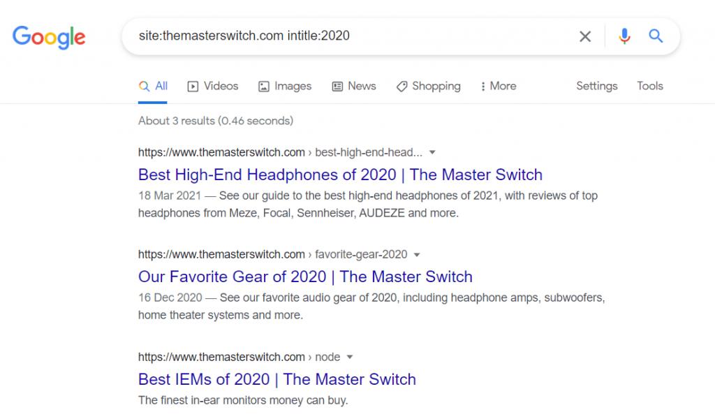 the masterswitch headphones google search result