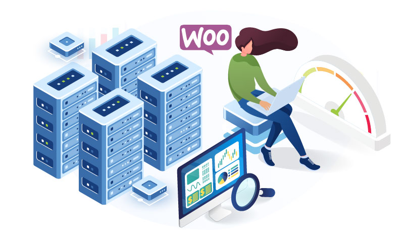 woocommerce performance on hosting service