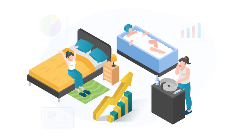 Bed and Bath Niche Ideas