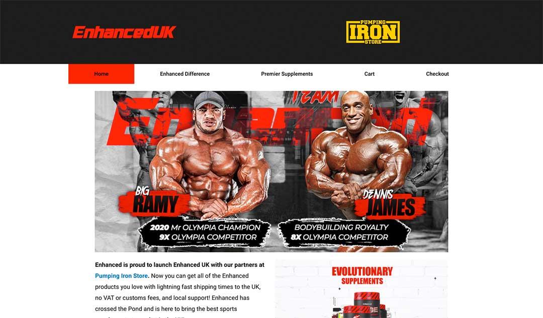 Enhanced Lab Homepage