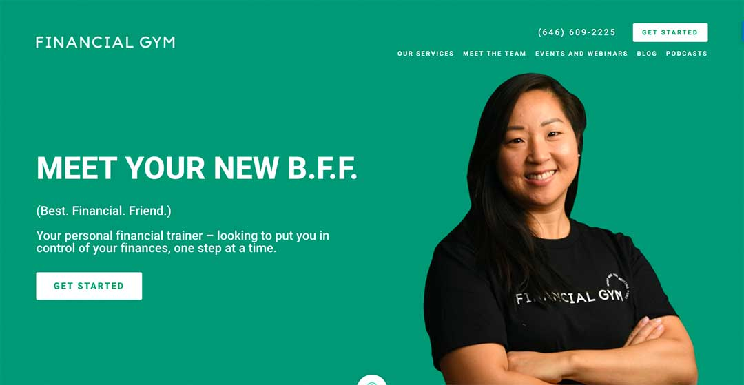 Financial Gym Homepage