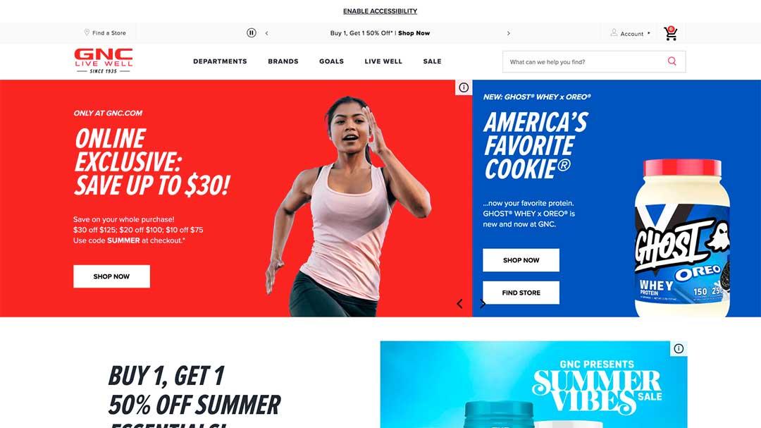 GNC Homepage