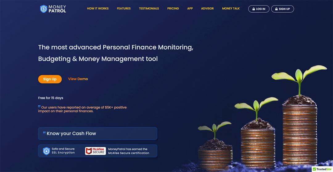 Money Patrol Homepage