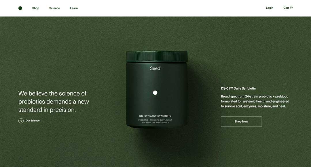 Seed Homepage