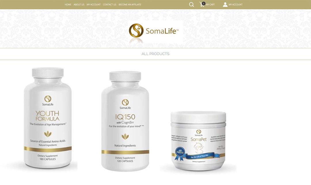 Somalife Homepage