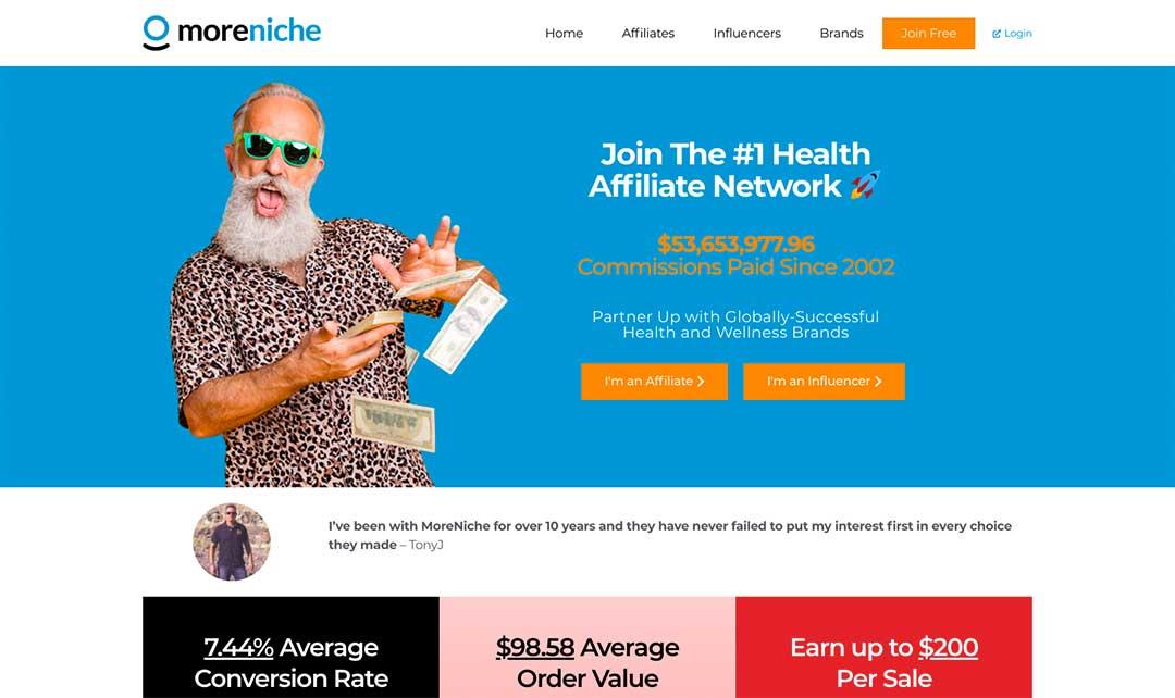morenicche homepage