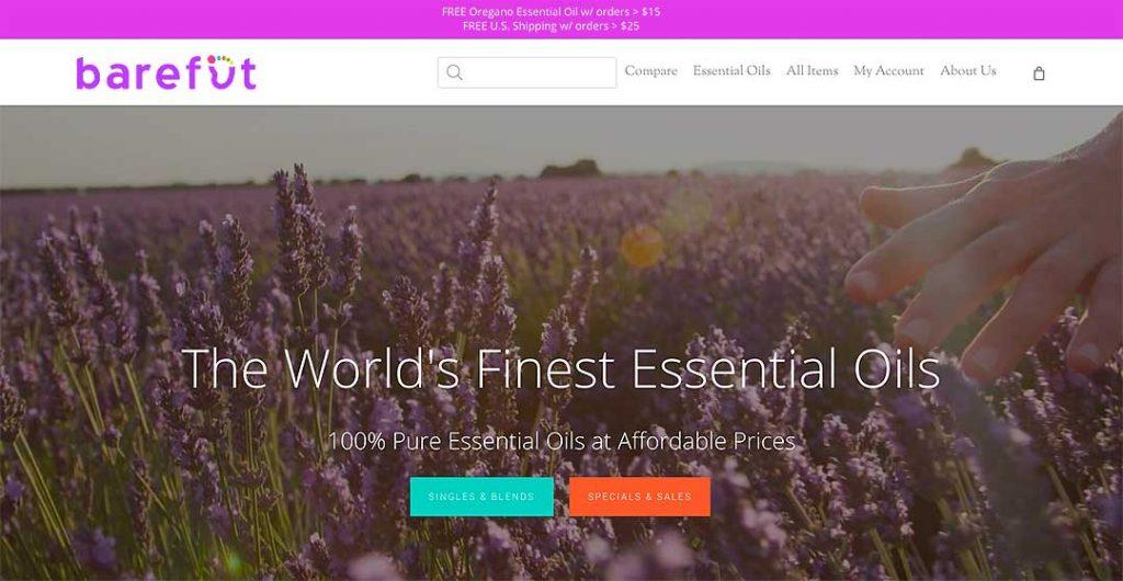 Barefut Homepage