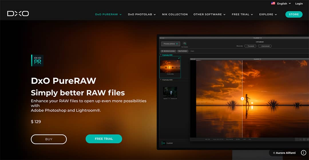 DXO Homepage