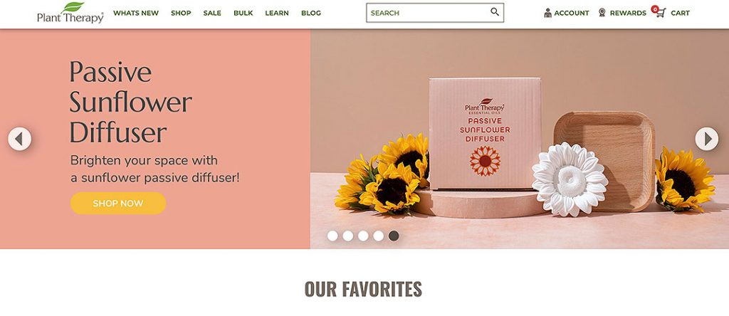 Plant Therapy Homepage