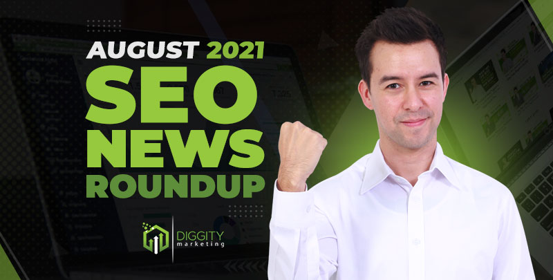 SEO News August 2021 Cover Image